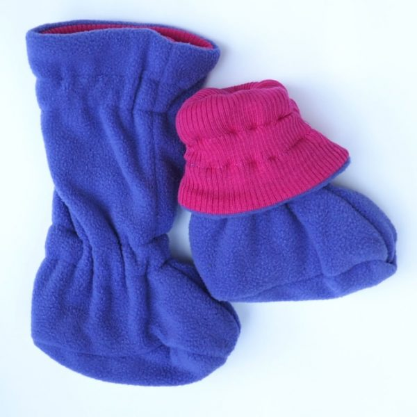 ManyMonths Winter Booties Lilac Rose