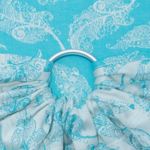 Fidella Ring Sling Feather Rain Scuba Blue