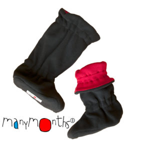 ManyMonths Winter Booties Poppy Red