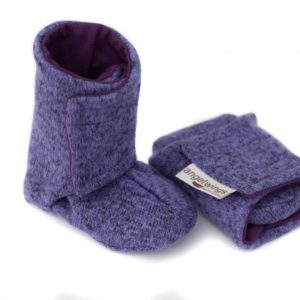 Angel wings Knitted Boots Violett