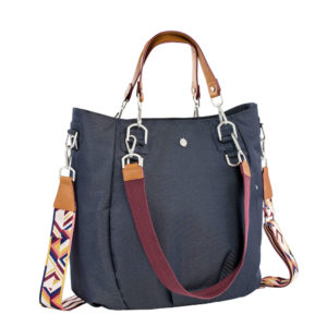 LÄSSIG Wickeltasche Mix n' Match Bag - Denim Blue