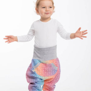 LennyBaggy Big Rainbow mit Grau
