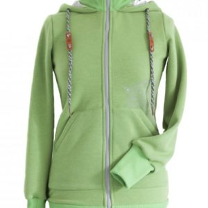Angel wings Hoodie Green