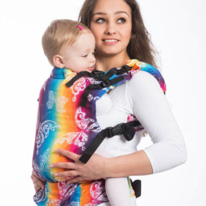 LennyUp Carrier Butterfly Rainbow Light