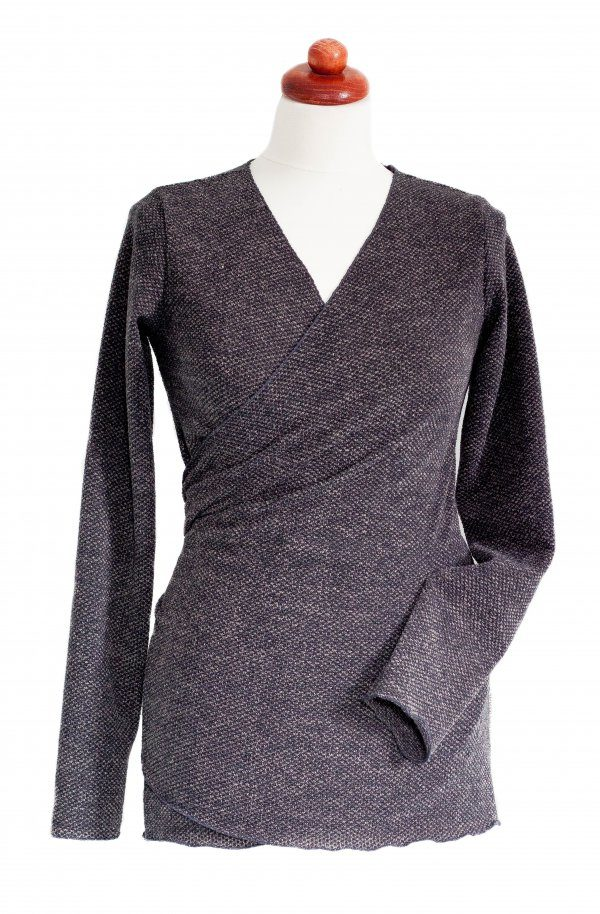 Angel Wings Sweater Dark Grey