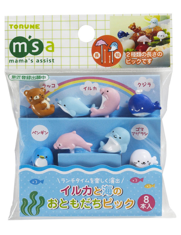 Bento Picks Delfin and Sea Friends 8er Pack