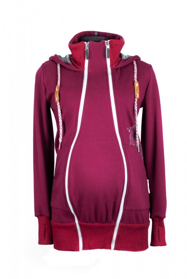 Angel wings Hoodie Bordeaux