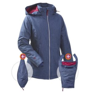 Mamalila Winterjacke Ice-Blue