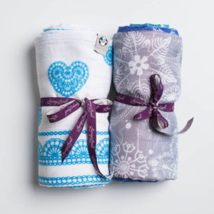 LennyLamb Swaddle Set Snow Queen & Lace