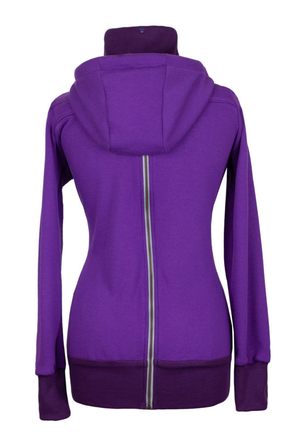 Angel Wings Hoodie Dark Puple