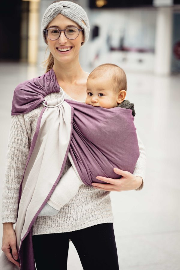 LIMAS Ring Sling - Brombeer