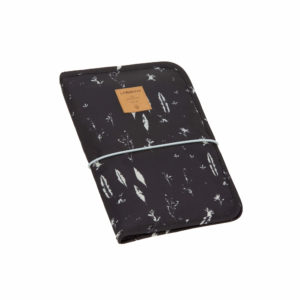 LÄSSIG Windeltasche - Changing Pouch, Feathers Black